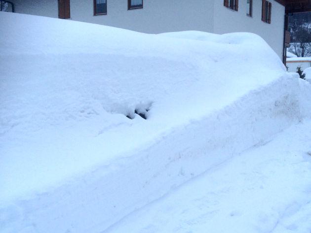 Ein Meter Schnee
