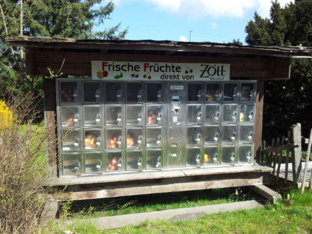 Früchteautomat