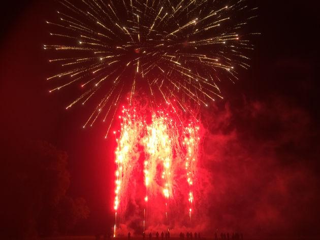 Feuerwerk in Kiel