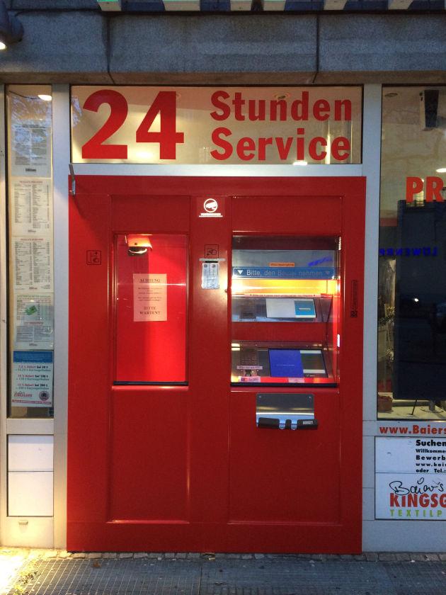 Dotti und unsere Hörerin Silke haben in München diesen Service-Automaten einer Reinigung entdeckt