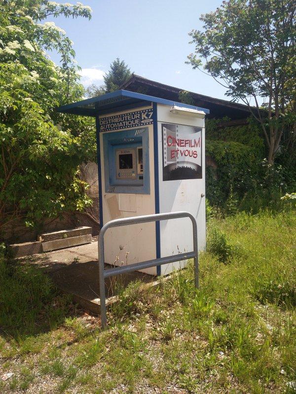 Diesen kuriosen Automaten hat uns Daniel vom Brombeerfalter-Podcast zur Verfügung gestellt.