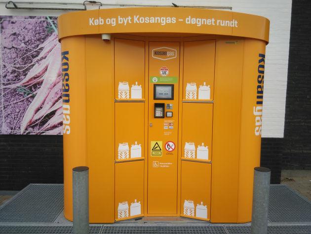 Bild: Gasflaschenautomat in Löcken, Dänemark