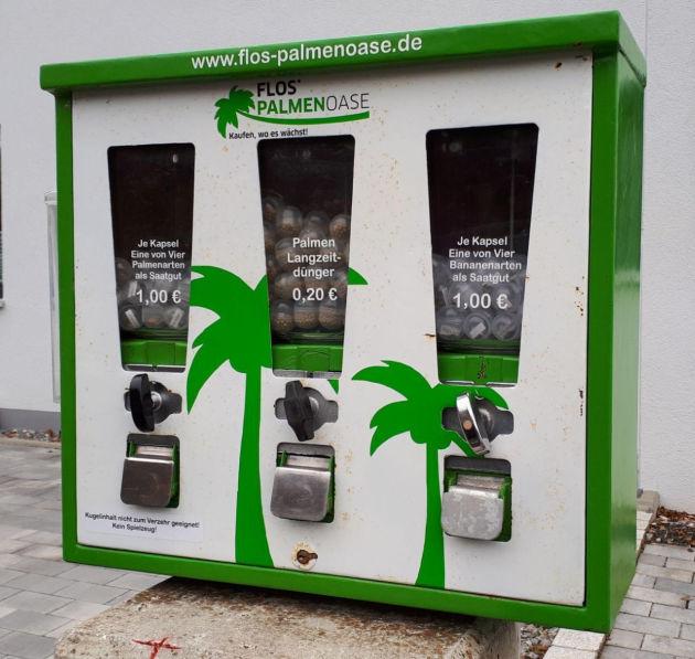 Bild eines Palmen-Automats