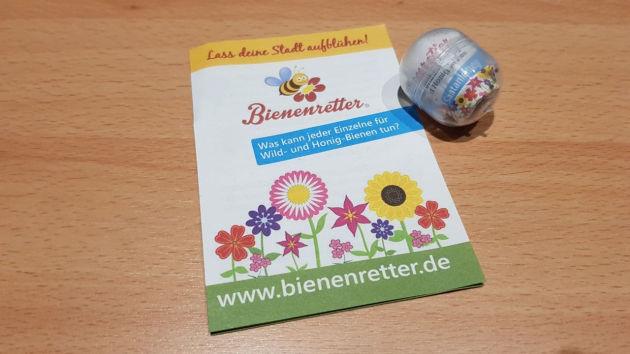 In ganz Deutschland sind Bienenfutter-Automaten verteilt.